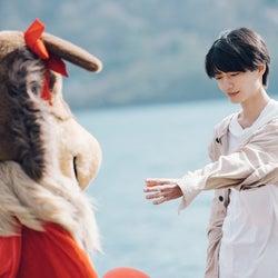 長谷川美月、杢代和人「恋とオオカミには騙されない」第12話より(C)AbemaTV, Inc.