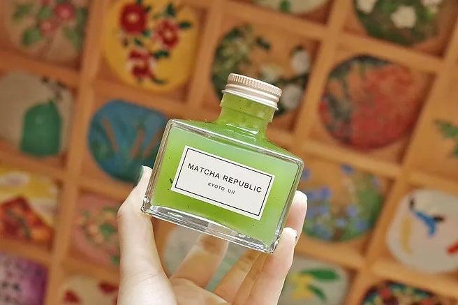 「抹茶共和国」の看板メニュー・抹茶インク/画像提供:抹茶共和国