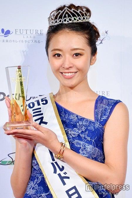 「ミス・ワールド2015」日本代表の中川知香さん