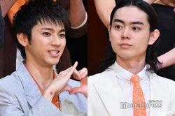 (左から)山田裕貴、菅田将暉 (C)モデルプレス