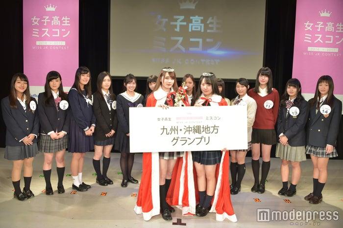 「女子高生ミスコン2016-2017」九州沖縄地方予選(C)モデルプレス