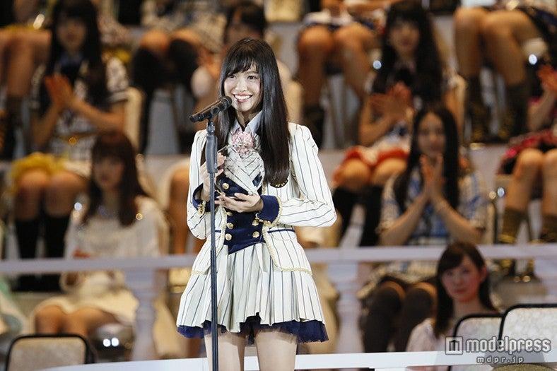 """""""NGT48""""キャプテン北原里英「胸を張ってに新潟に行くことができそう」<第7回AKB48選抜総選挙>(C)AKS【モデルプレス】"""