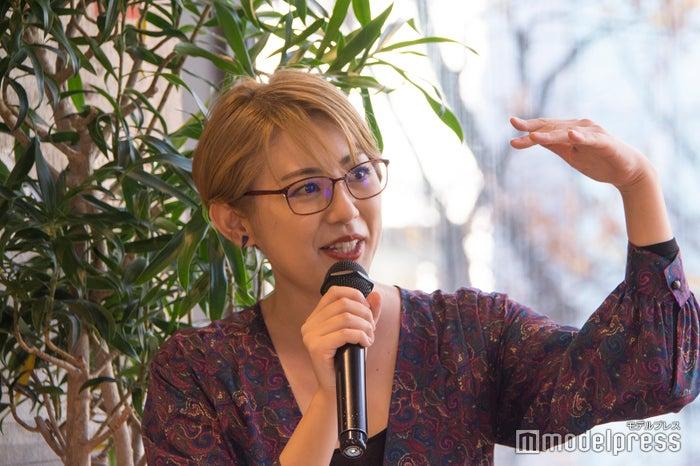 横峰沙弥香氏(C)モデルプレス