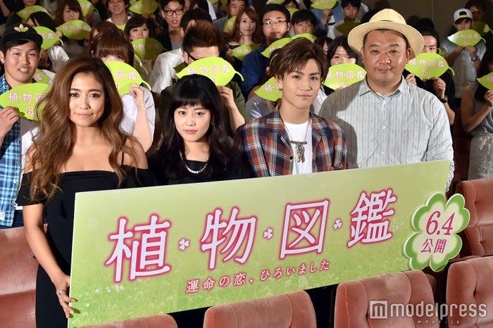 (左から)今井華、高畑充希、岩田剛典、木下隆行(C)モデルプレス