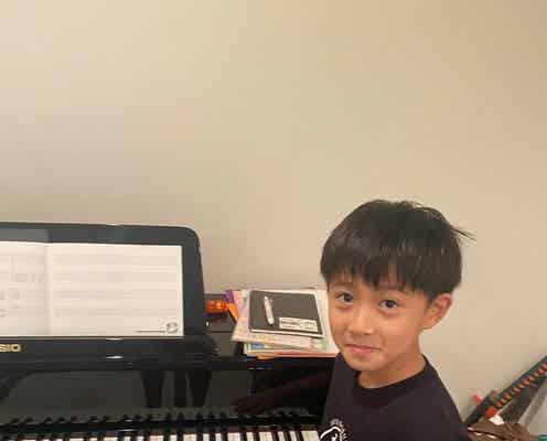 市川海老蔵、作曲をする息子の姿を公開「才能が溢れてます」「楽しみです」の声