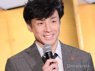 東山紀之、フジテレビ会見に駆けつける Sexy Zone中島健人と共演で「ジャニーズの繁栄に力を尽くしたい」