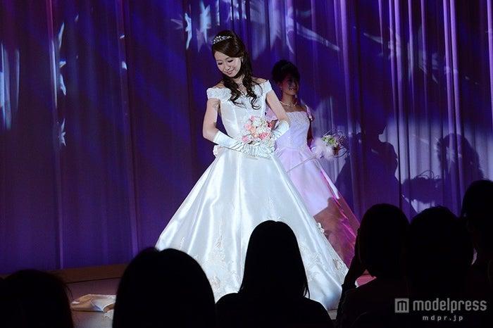 オーロラ姫をイメージしたドレス