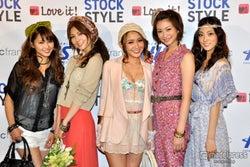 左から:三原勇希、宇井愛美、向山志穂、西田有沙、岩本乃蒼