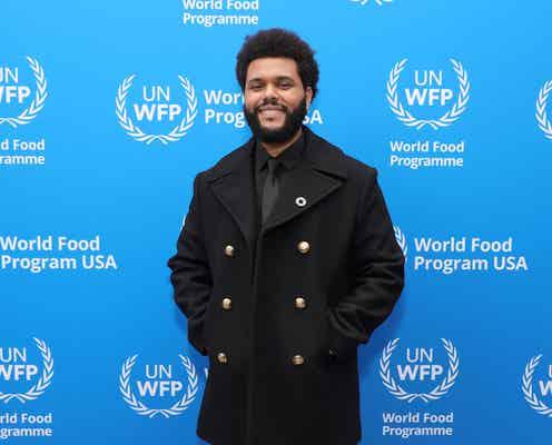ザ・ウィークエンド、国連の食糧支援プログラムの親善大使に就任。