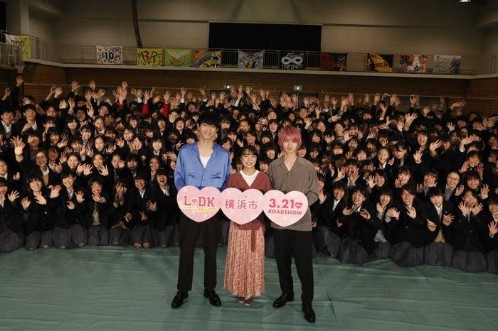 (左から)杉野遥亮、上白石萌音、横浜流星(C)「2019 L・DK」製作委員会