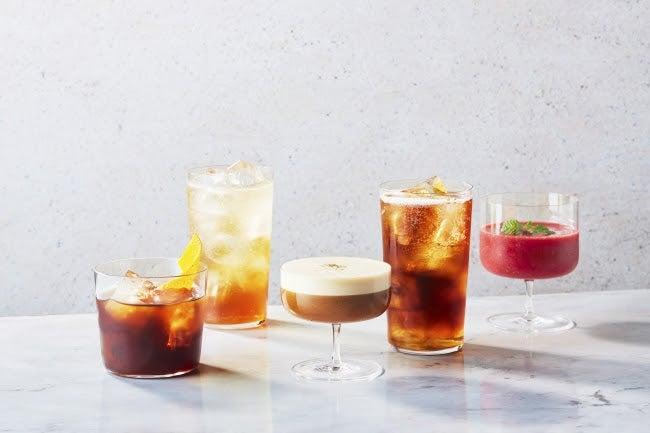 ブルーボトルコーヒー 広尾カフェ限定 SPECIALTY COFFEE COCKTAILS/画像提供:ブルーボトルコーヒージャパン
