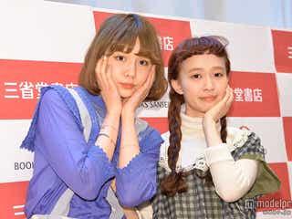 青文字系モデル・柴田紗希&村田倫子、今春注目のファッション&メイクを明かす