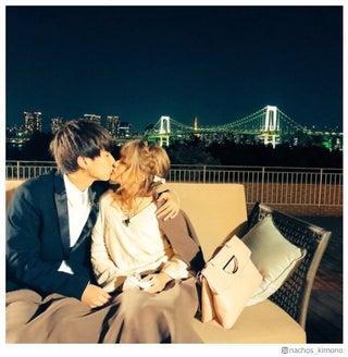 """なちょす&那須泰斗""""なちょころりん""""カップル、熱々キスショット公開「最高でした」"""
