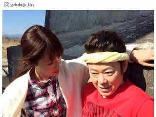 """深田恭子の""""壁ドン""""が話題「されたい」「男前過ぎる」 風間俊介が撮影で「楽しい」"""