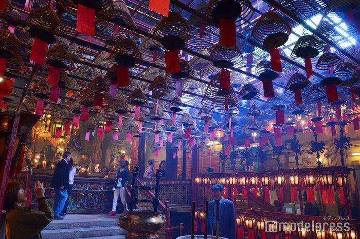 香港最古の寺「文武廟(Man Mo Temple)」(C)モデルプレス