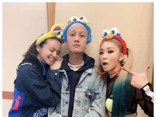 倖田來未、妹・misono&Nosuke夫妻と3ショット「笑うことが一番の薬」エール送る