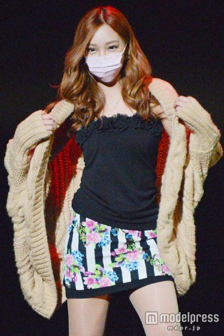 ファッションイベント「第5回ガールズブロガースタイル2013A/W」に出演したざわちん