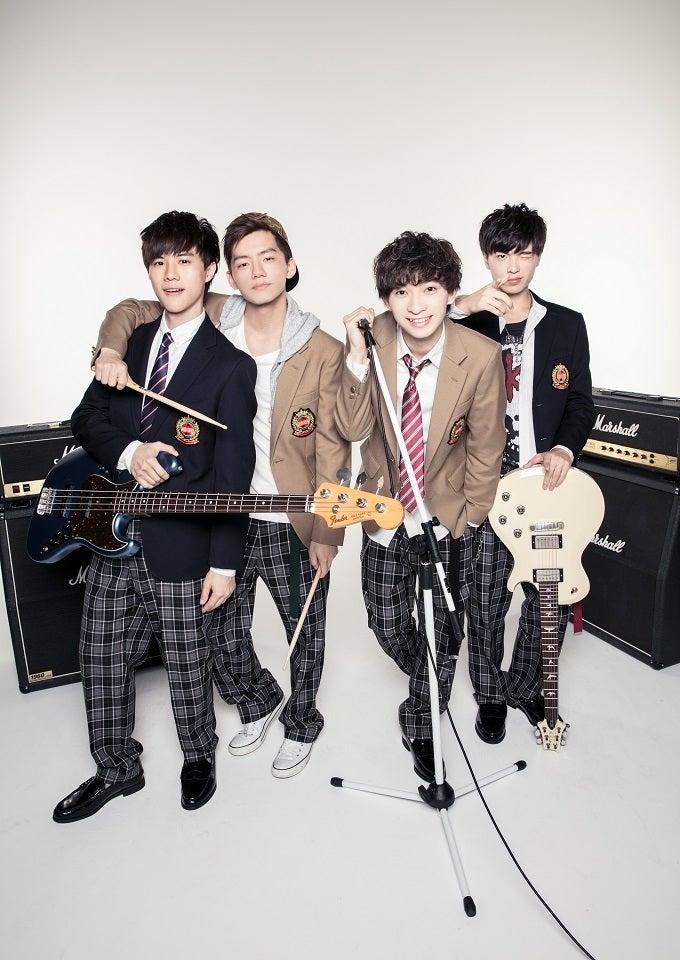 (左から)JK(Ba/Cho)、Mark(Dr/Cho)、Shawn(Vo/Gt)、Hank (Gt/Cho)/画像提供:所属事務所