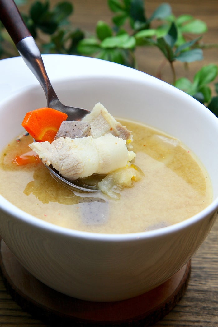 霧島豚と秋野菜たっぷりの特製豚汁/画像提供:Soup+