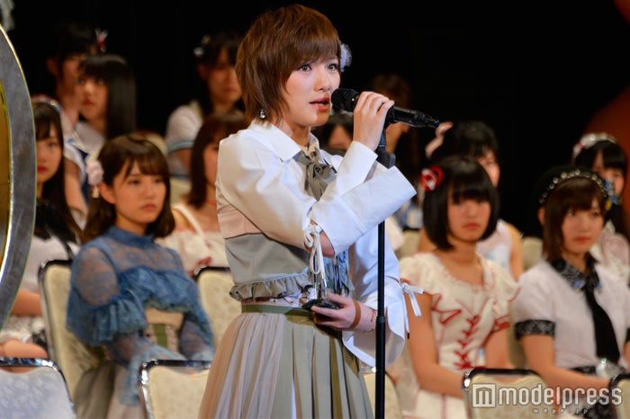 岡田奈々「AKB48 49thシングル選抜総選挙~まずは戦おう!話はそれからだ~」 (C)モデルプレス