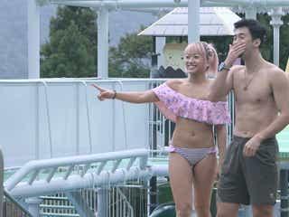 【テラスハウス・新東京編】水着で混浴デート 美女プロレスラー木村花のギャップをスタジオ絶賛