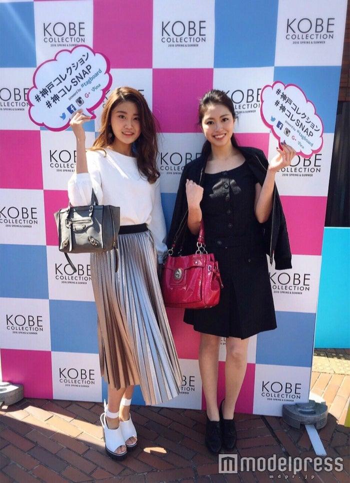 スナップグランプリでモデルプレス賞に輝いた岡山葵さん、相浦沙栄さん