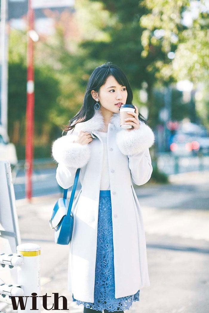 菅井友香/「with」2月号より(画像提供:講談社)