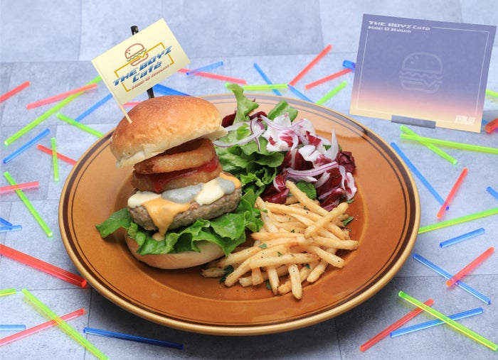 【HYUNJAE】3種のチーズバーガー/画像提供:レッグス