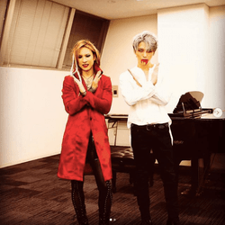 YOSHIKI&ジェジュン、仮装2ショットに反響「感動で震えた」「美の結集」