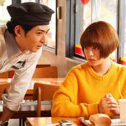 古川雄大、杉咲花 「恋です!~ヤンキー君と白杖ガール~」第2話より(C)日本テレビ