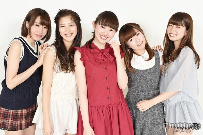 Re:ガールズ(左から)千畝あずみ、ayumi、福井有彩、愛内みさ、白石柚月(C)モデルプレス
