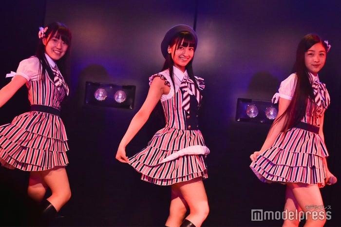 本田そら、庄司なぎさ、道枝咲/前座・AKB48岡部チームA「目撃者」公演(C)モデルプレス