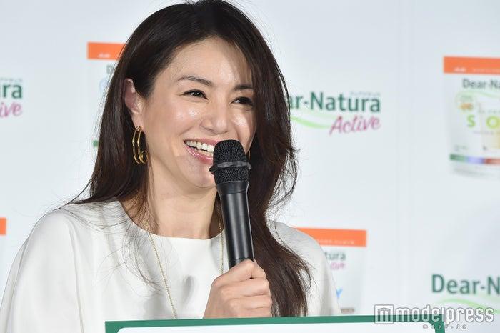 井川遥、女性らしい肉体美に手応...