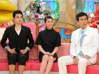 武井咲、『トリハダ』で黒のミニスカ姿で美脚を披露