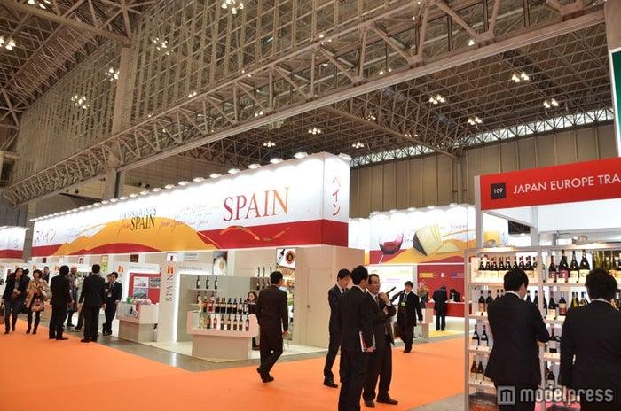 「FOODEX JAPAN 2012」スペインブース/幕張メッセ1~8HALLを使用して世界75か国が出展