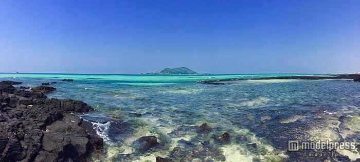 チェジュ島で人気の挾才(ヒョプチェ)海水浴場