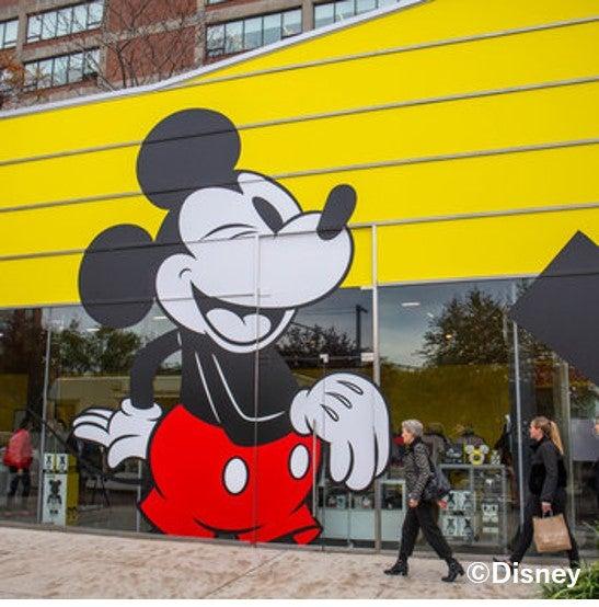 ニューヨーク展会場外観(C)Disney
