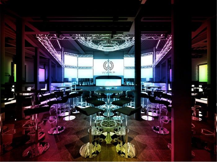 未来型ナイトクラブ「WARP SHINJUKU」オープン日決定 豪華アーティスト陣が集結/画像提供:株式会社MT クリエイト