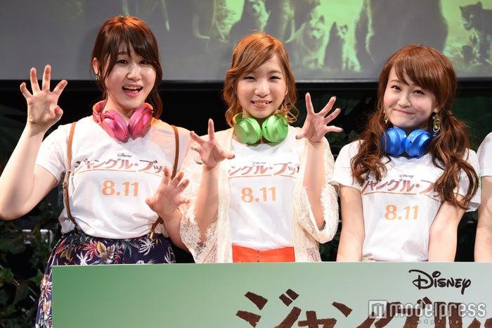 (左から)かれん、MAYU芹奈(C)モデルプレス