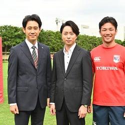 嵐・櫻井翔「ノーサイド・ゲーム」最終回出演で同級生と共演 初披露の髪型にも注目