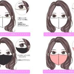 マスクの色で似合うメイクは違うんです♡マスクの色別「垢抜けアイメイク」