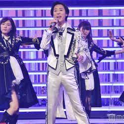 """モデルプレス - AKB48グループ""""男装選抜""""10名がリハ 山内惠介とコラボ<紅白リハ1日目>"""
