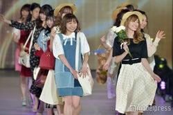 """SKE48""""ファッション選抜""""が堂々ランウェイ 華やか春コーデで""""モデル""""の顔<関コレ2017S/S>"""