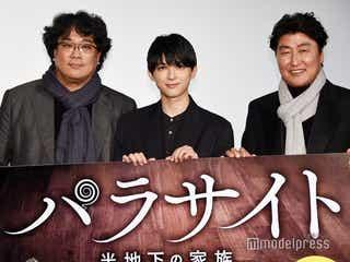 「パラサイト」ポン・ジュノ監督が吉沢亮に素朴な質問「ご自身がイケメンだということに気づいたのは何歳?」