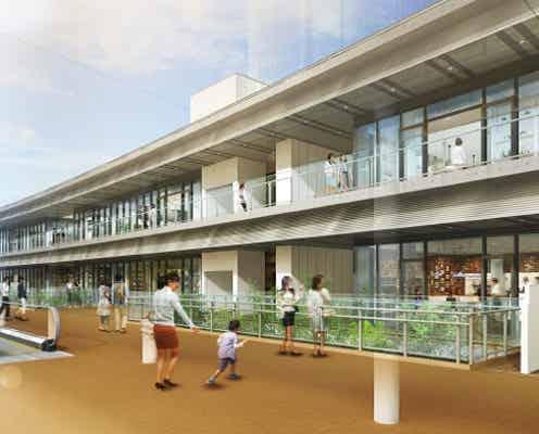 海老名駅前に新施設「テラス」開業、カフェやワインバル等グルメ中心の26店舗が集結