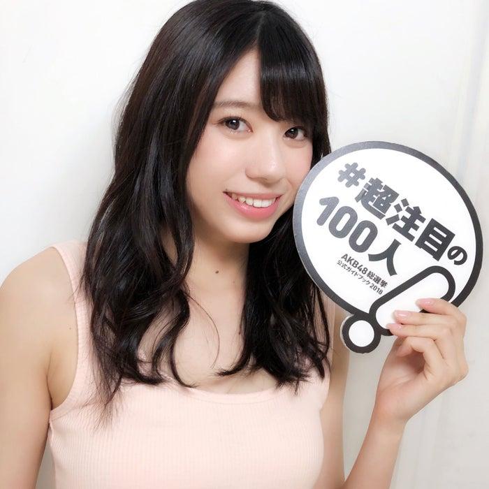 大西桃香『AKB48総選挙公式ガイドブック2018』(5月16日発売/講談社)公式ツイッターより