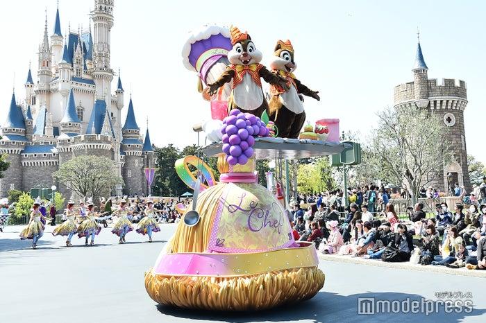 チップ、デール/パレード「ドリーミング・アップ!」(C)モデルプレス(C)Disney