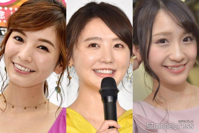 (左から)ほのか、おのののか、伊藤愛真 (C)モデルプレス