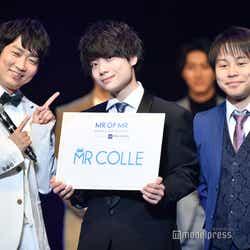 (中央)上江洲クレイトン恵一さん(C)モデルプレス