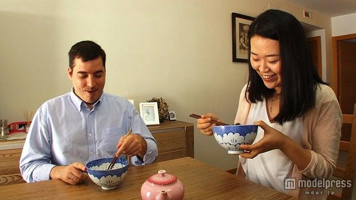スペインの日本人妻・真理子さんと夫・カニサレスさん/画像提供:毎日放送
